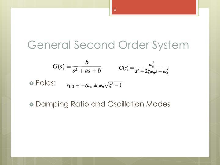 General Second Order System