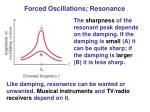 forced oscillations resonance1