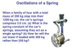 oscillations of a spring6