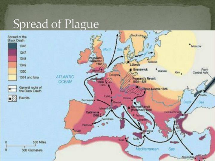 Spread of Plague