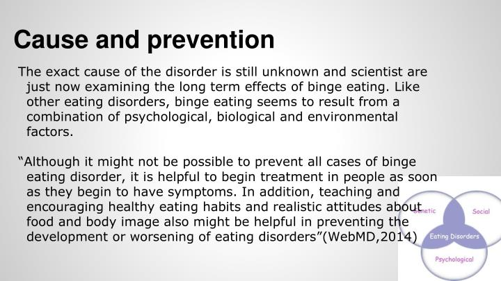 cause and effect essay on eating disorders
