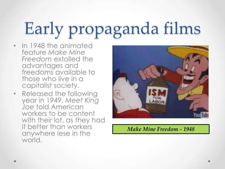 Early propaganda films
