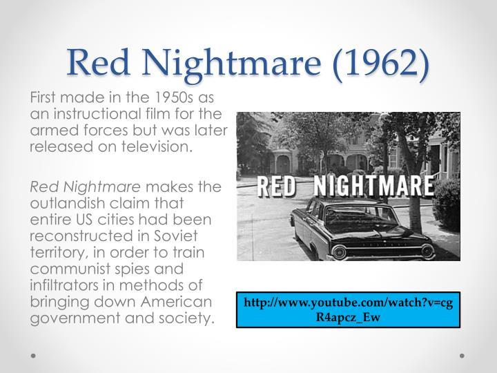 Red Nightmare (1962)