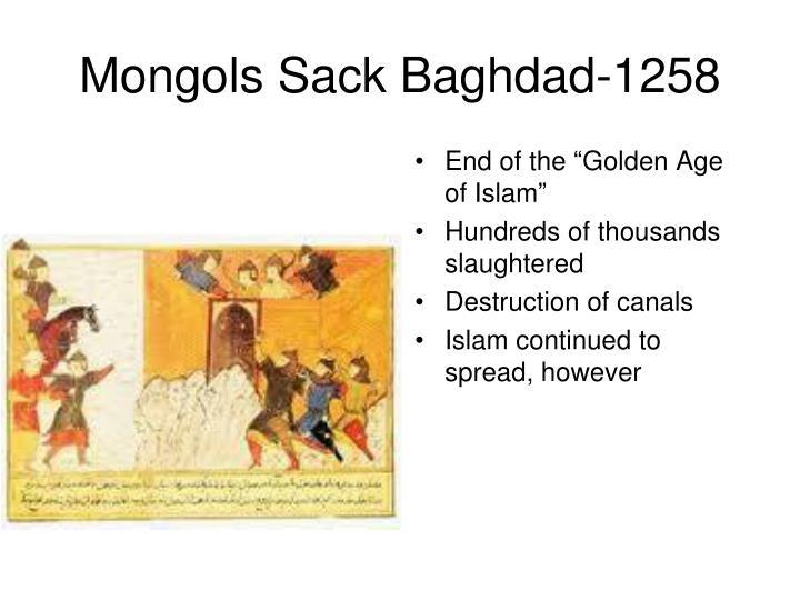 Mongols Sack Baghdad-1258