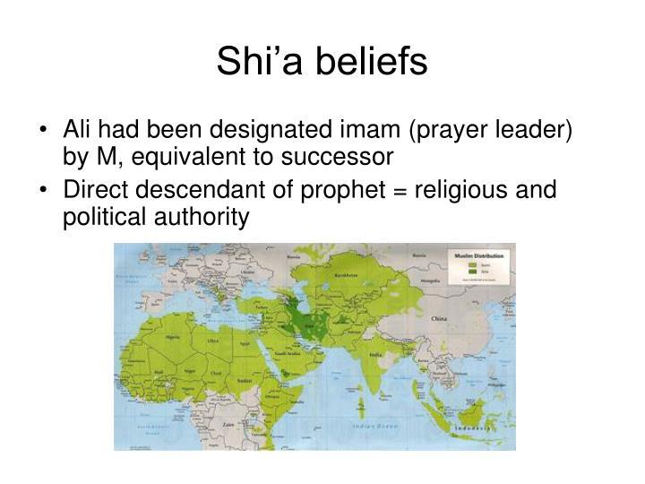 Shi'a beliefs
