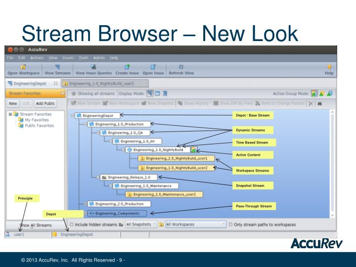 Stream Browser – New Look