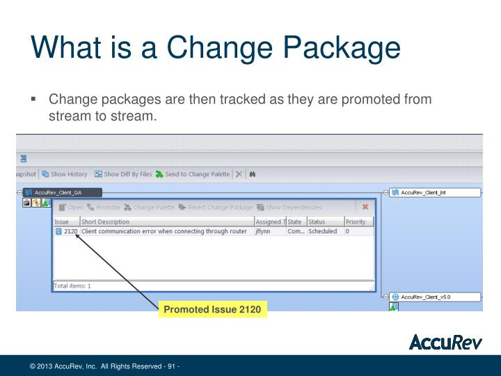 What is a Change Package