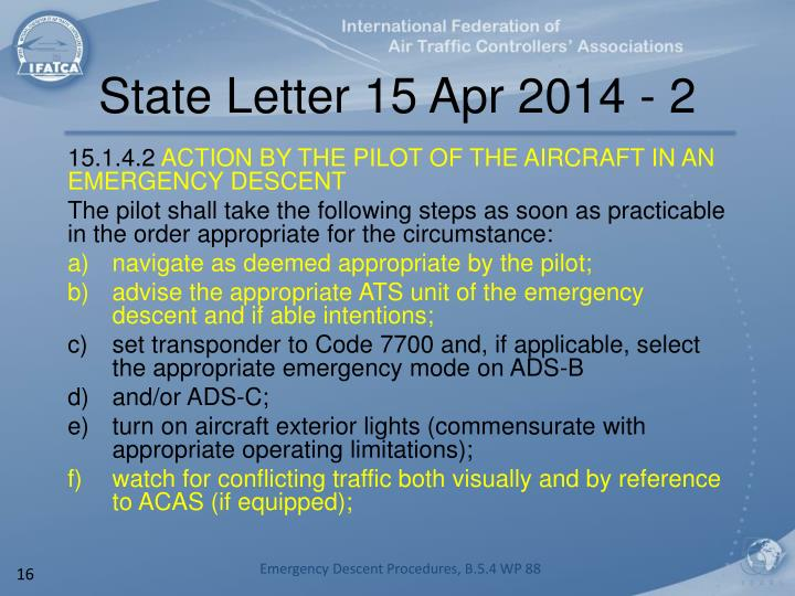 State Letter 15 Apr 2014 - 2