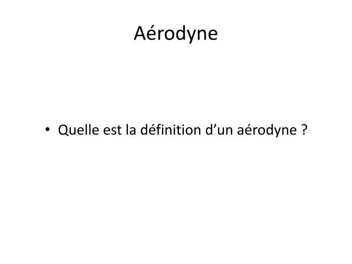 Aérodyne