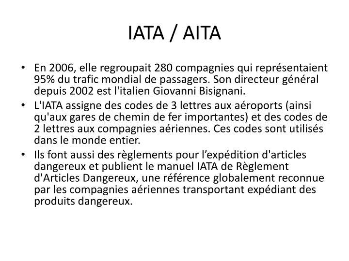 IATA / AITA
