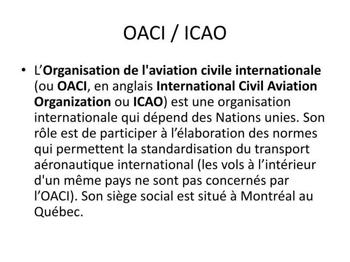 OACI / ICAO