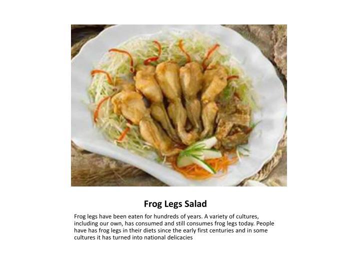 Frog Legs Salad