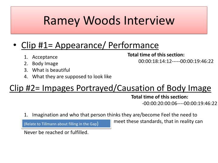 Ramey Woods Interview