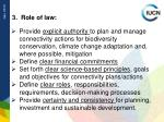3 role of law