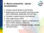 4 marine connectivity special considerations
