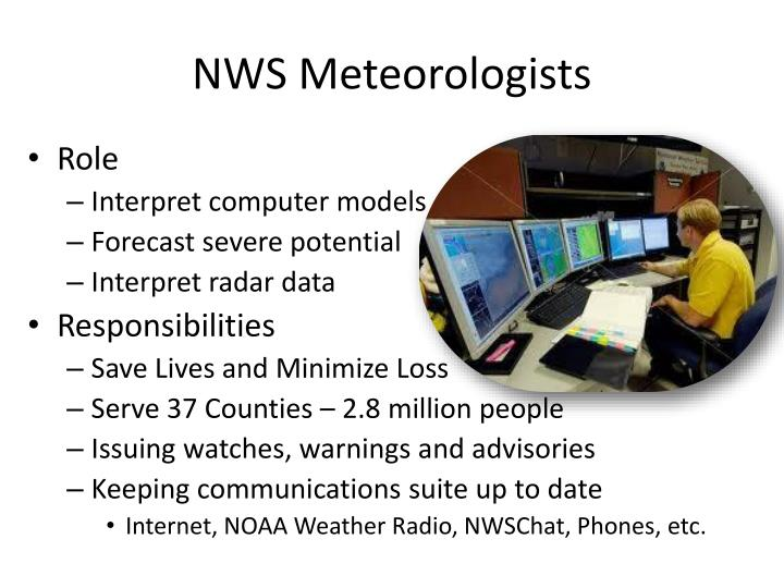 NWS Meteorologists