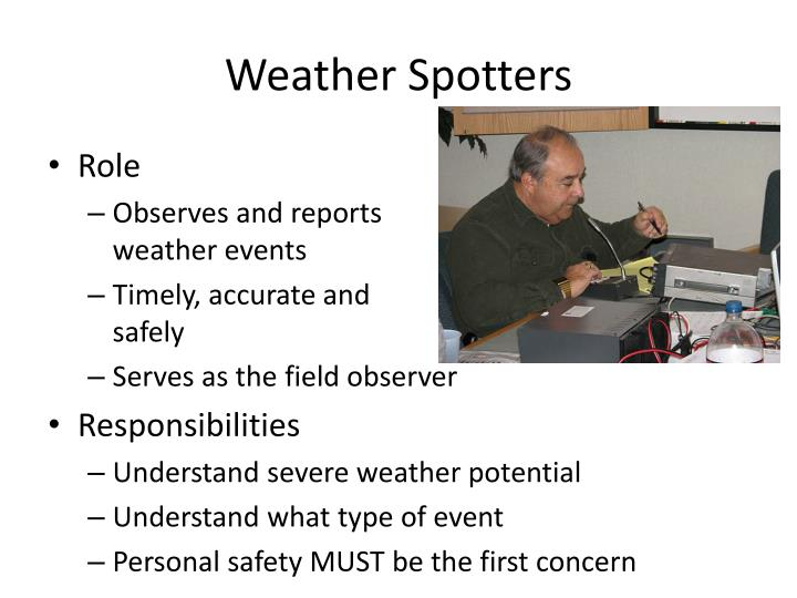 Weather Spotters