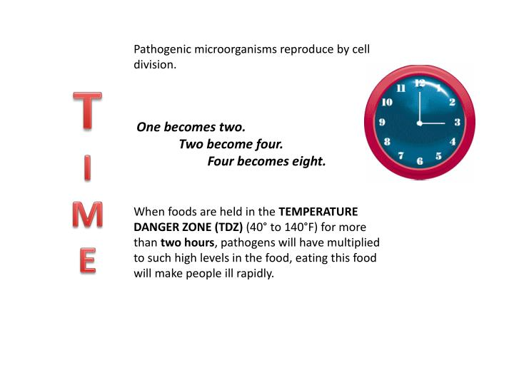 Pathogenic microorganisms reproduce by cell division.