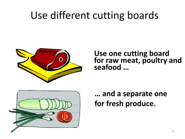 … and a separate one for fresh produce.