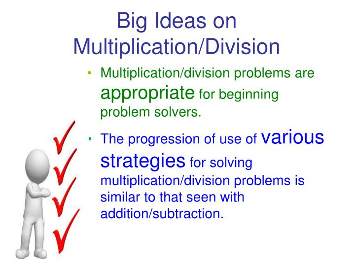 Big Ideas on Multiplication/Division