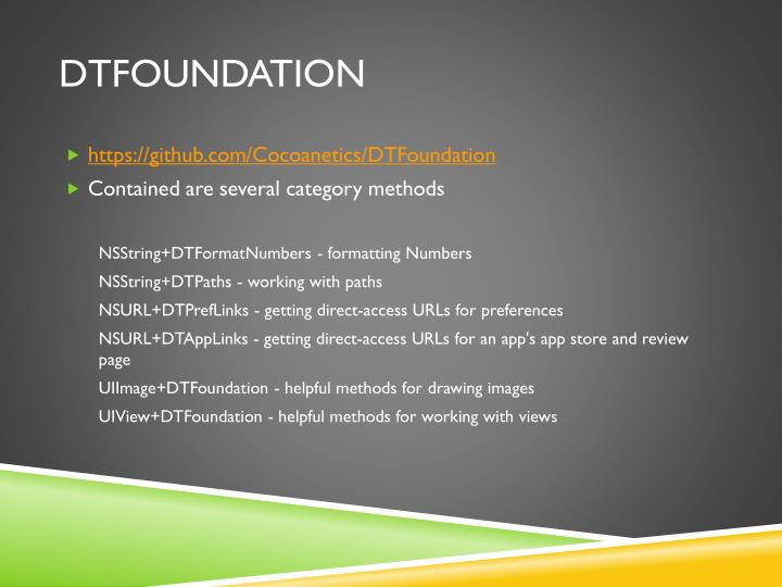 DTFoundation