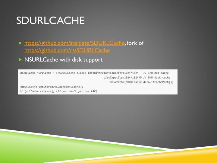 SDURLCache