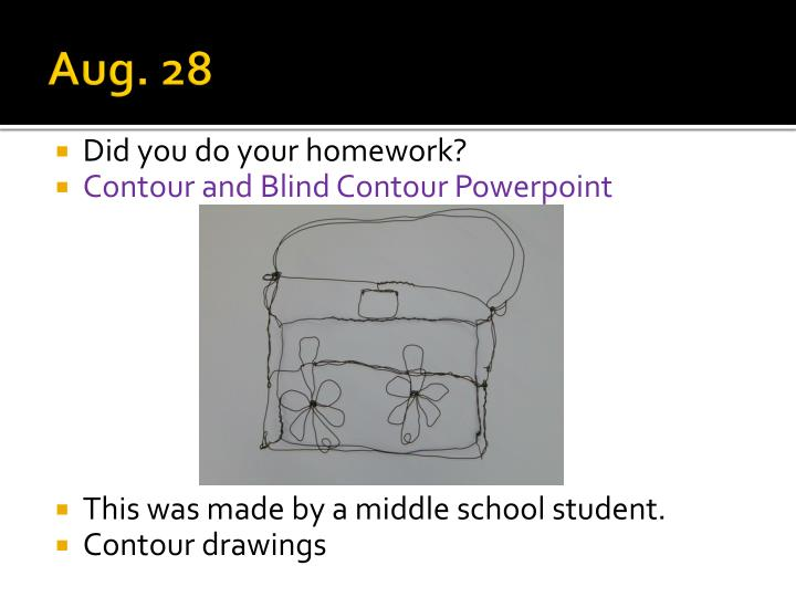Contour Line Drawing Powerpoint : Ppt jewelry sculpture studio th hour powerpoint