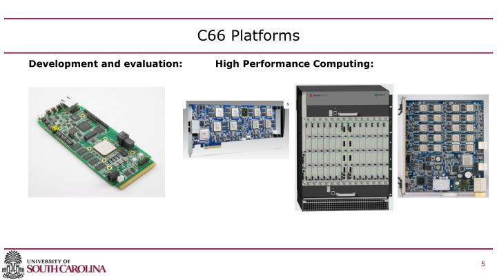 C66 Platforms