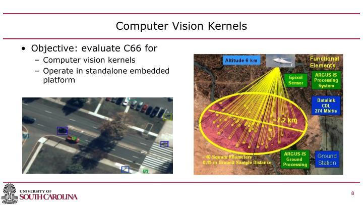 Computer Vision Kernels