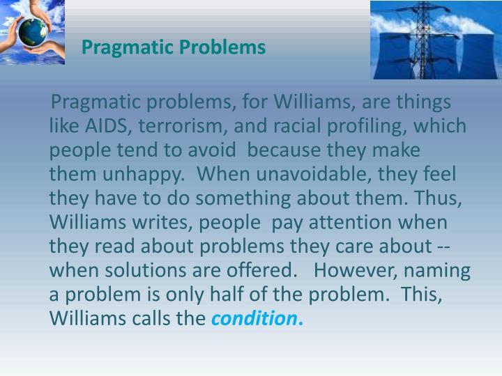 Pragmatic Problems
