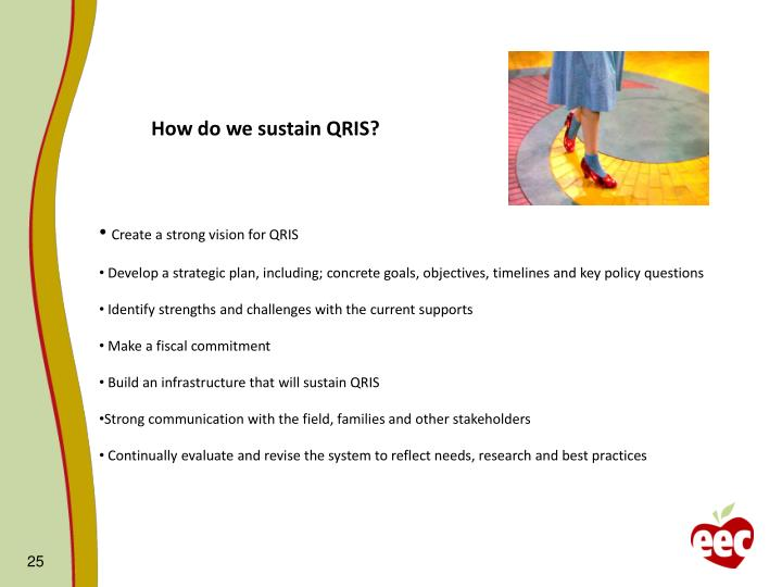 How do we sustain QRIS?