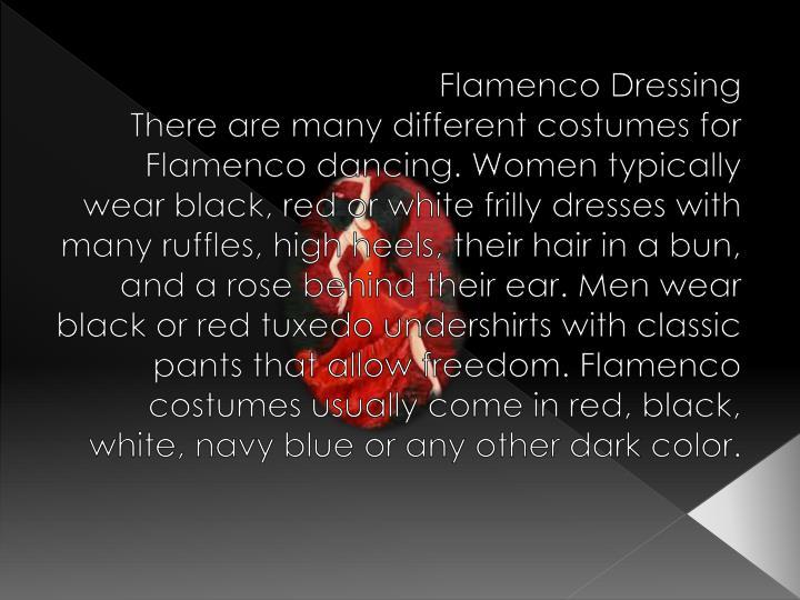Flamenco Dressing
