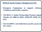 tackle south sudan background info