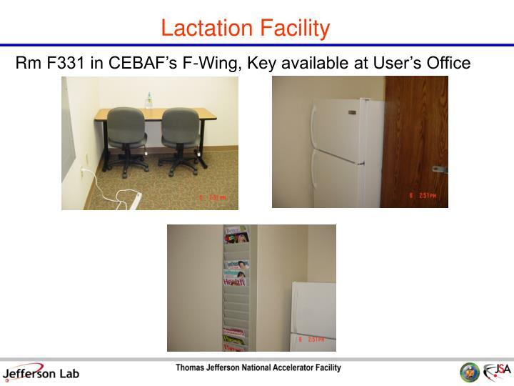 Lactation Facility