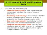 3 1 economic profit and economic loss