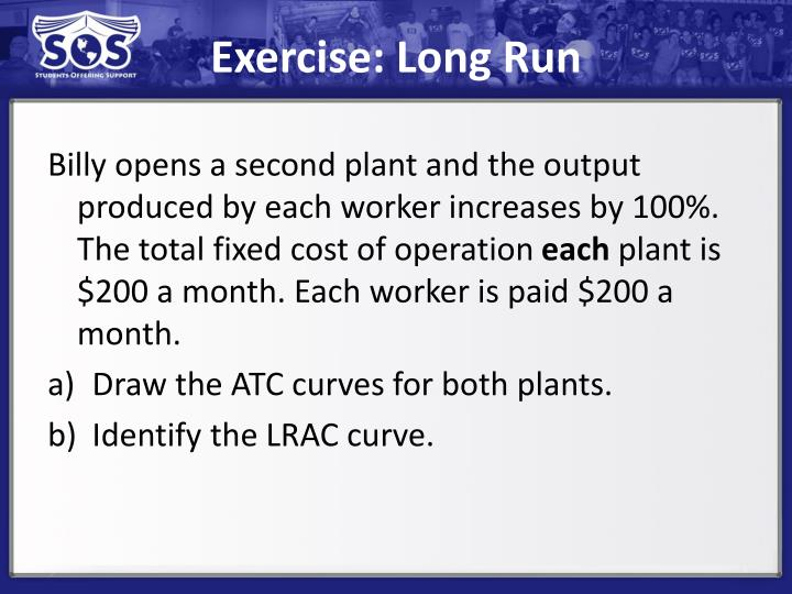 Exercise: Long Run