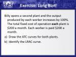 exercise long run