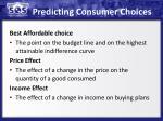 predicting consumer choices