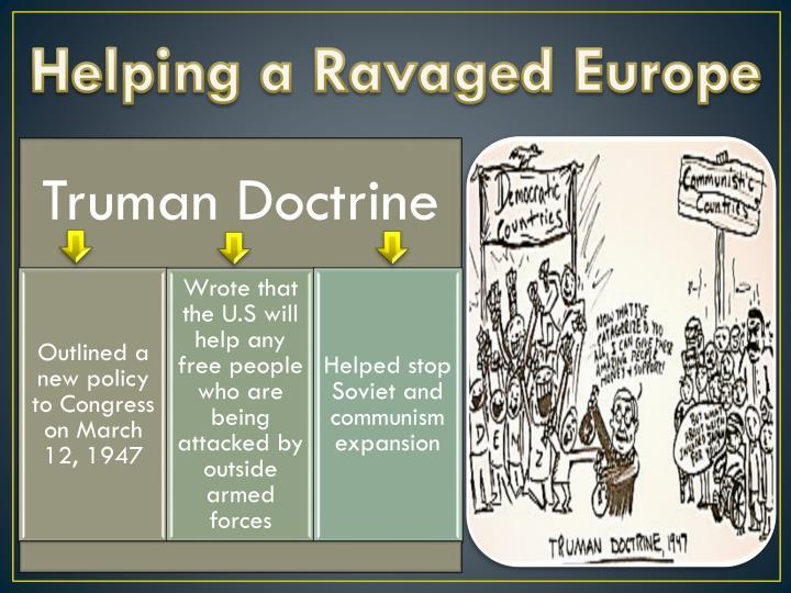 Helping a Ravaged Europe