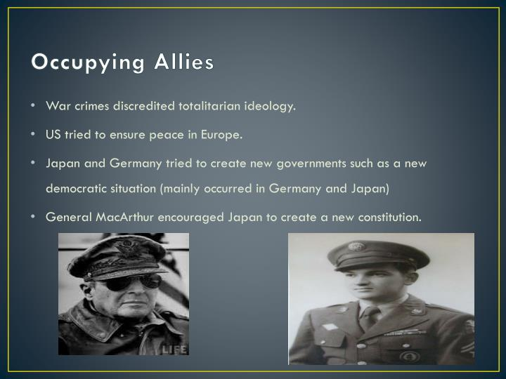 Occupying Allies