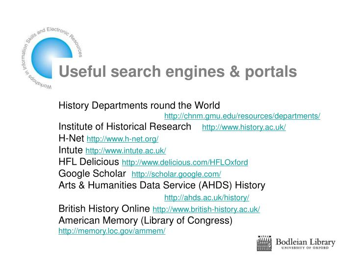 Useful search engines & portals
