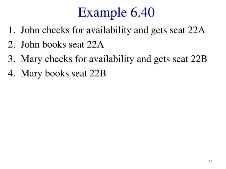 Example 6.40