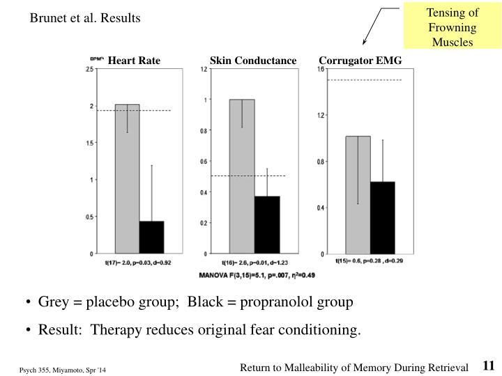 Brunet et al. Results