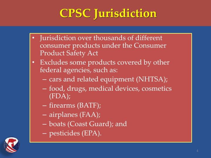 CPSC Jurisdiction