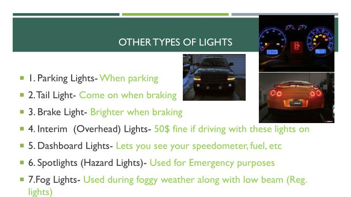 Other types of lights