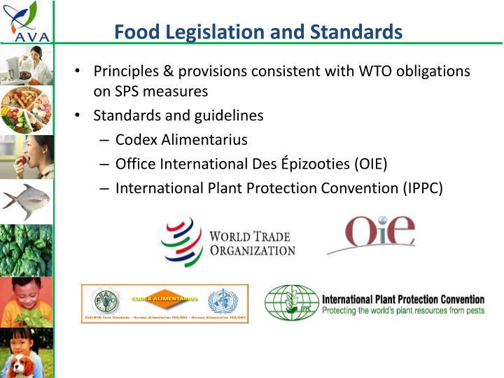 Food Legislation and Standards