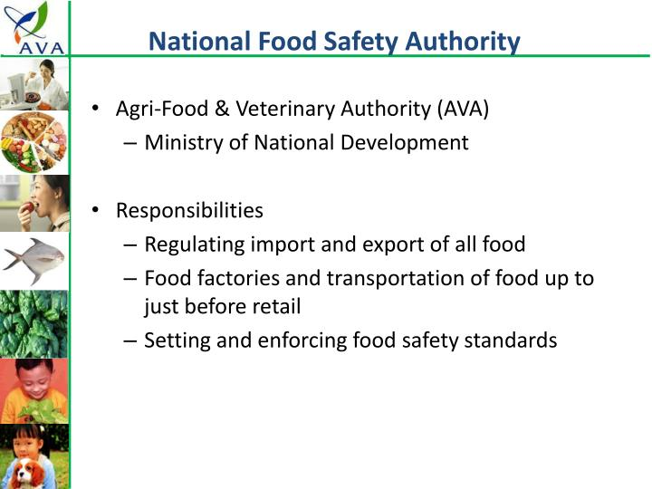 National food safety authority