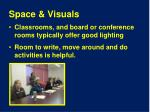 space visuals