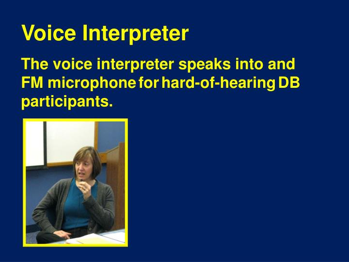 Voice Interpreter