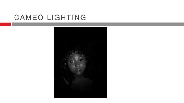 Cameo lighting
